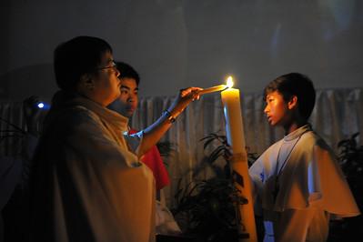 IHM Easter Vigil Mass with Baptism 2012