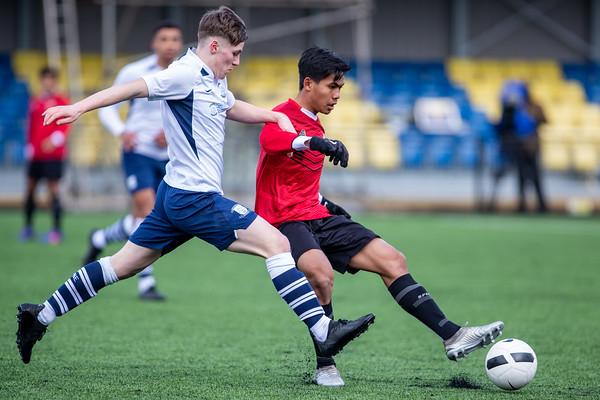 Garuda Select XI vs Preston North End U18s 25th Feb 2020