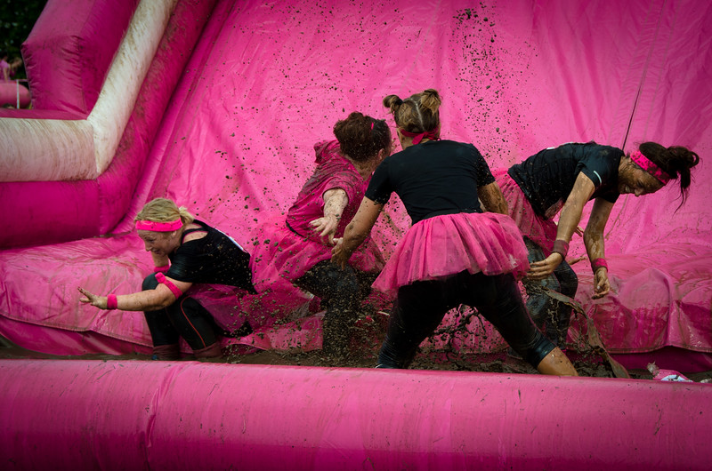 Race for Life - Pretty Muddy 5k