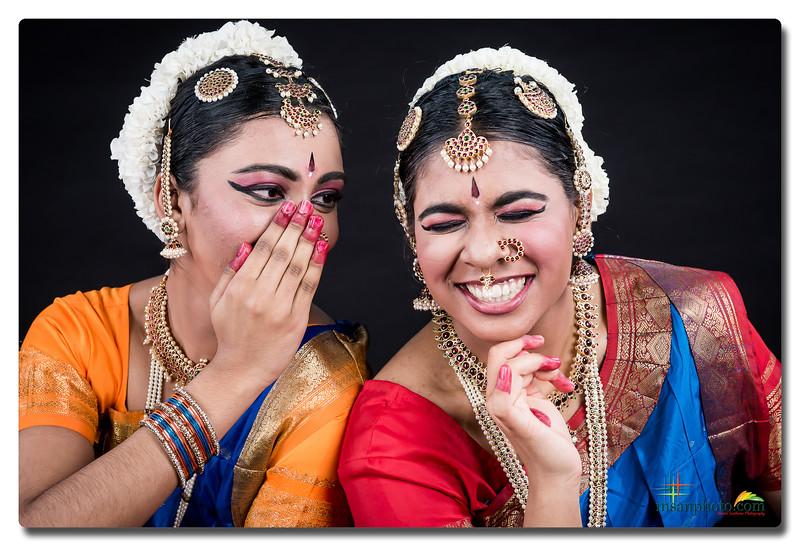 Arthi & Ishika's Pre-Arangetram Portraits 2019