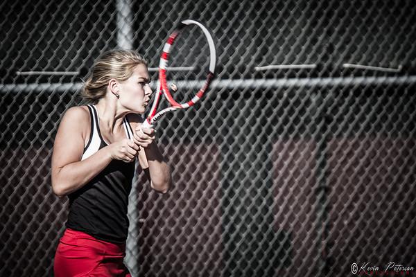 2014 Hounds Girls Varsity Tennis