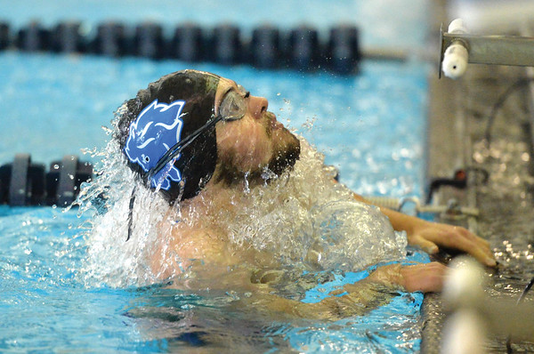 The Sheridan High School boys swimming and diving team hosts Sheridan Invite