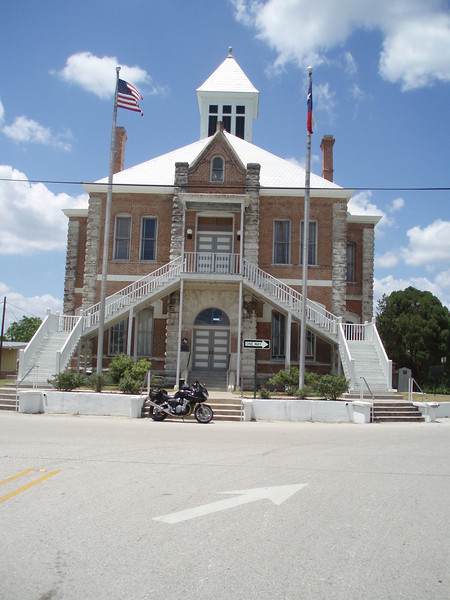 Historic Grimes County Courthouse Building, Anderson, Texas