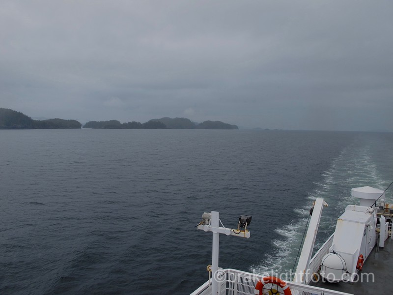 Approaching Port Hardy on the Queen of Chilliwack