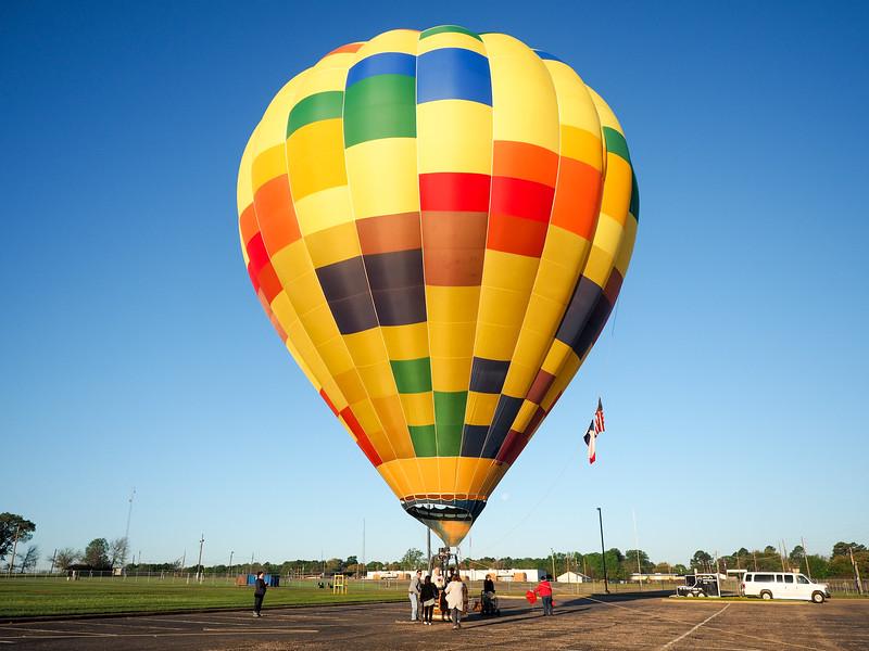 Ballooning in Longview, Texas