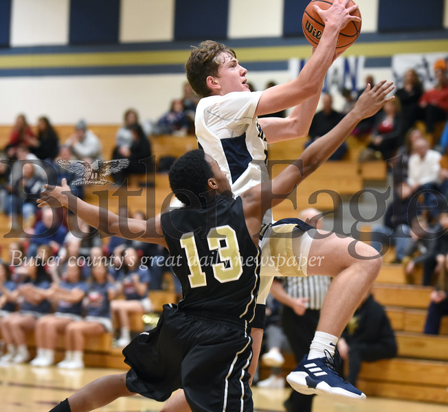 Knoch vs Valley Boys basketball non-section game at Knoch high school