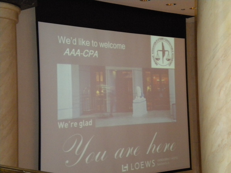 AAA-CPA Fall Meeting