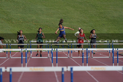 040110 GIRLS 300 HURDLES