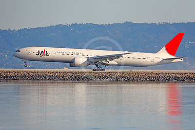 Japan Airline Boeing 777 Airliner Pictures