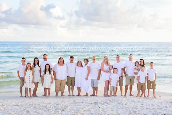 The Moore family     Panama City Beach