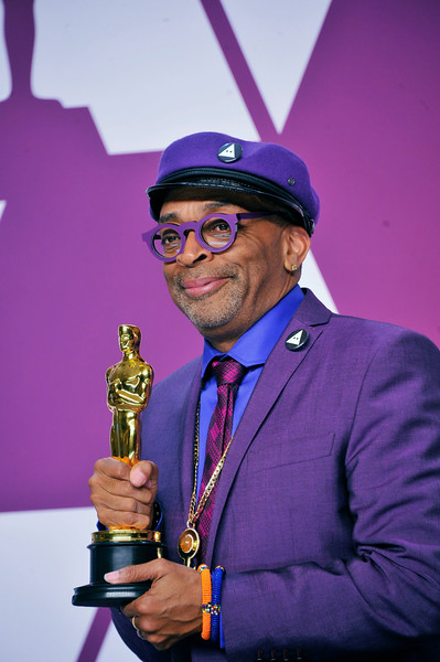 "ACADEMY AWARDS 91ST OSCARS PRESSROOM HELD AT THE LOWES HOTEL IN HOLLYWOOD CALIFORNIA ON FEBRUARY 24,2019. SPIKE LEE SCREEN PLAY ""THE BLACK KLANSMAN PHOTOGRAPHER VALERIE GOODLOE"