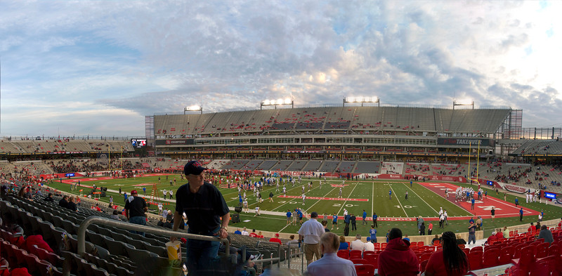 TDECU stadium before the game