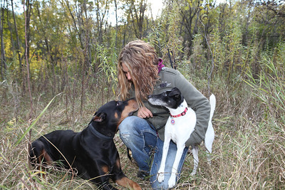 Kat Monty & Big Dog Oct 2013