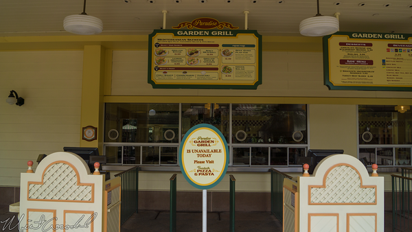Disneyland Resort, Disney California Adventure, Paradise, Pier, Garden, Grill