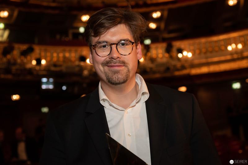 Benedict Simonischek - Nestroy Verleihung 2018