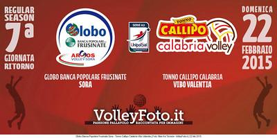 Globo Banca Popolare Frusinate Sora - Tonno Callipo Calabria Vibo Valentia