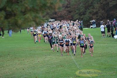 Girls JV 0.25 mile - 2015 Oxford Invite XC