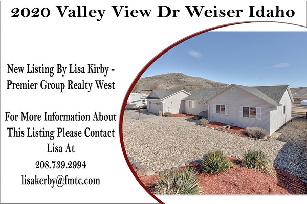 2020 Valley View Dr Weiser Idaho - Lisa Kerby