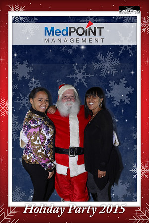 MedPOINT Management Holiday Party 2015