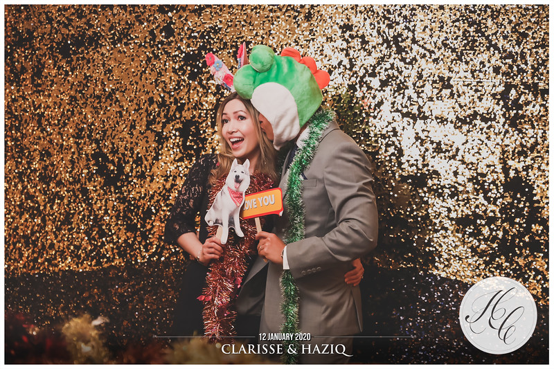 Wedding of Clarisse & Haziq   © www.SRSLYPhotobooth.sg