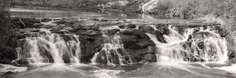 Pine Creek Falls Monochrome