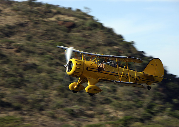 Take a Biplane in Kenya