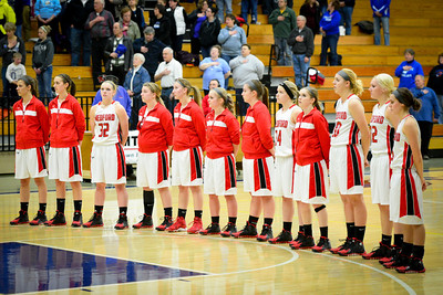 Medford Girls V vs Merrill March 7 2014