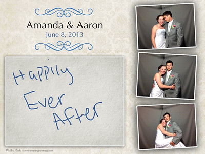 Amanda & Aaron (Photo Booth)