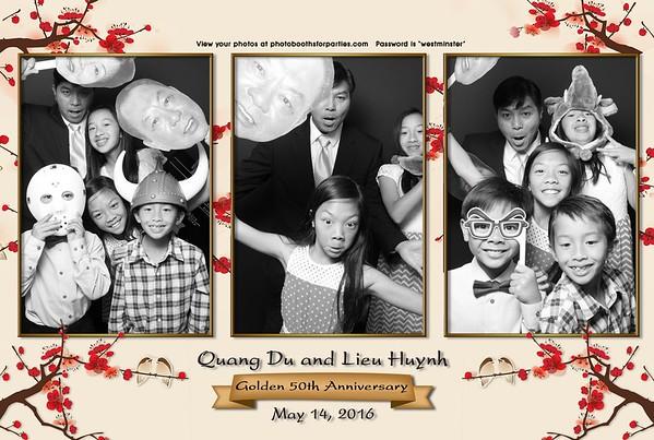 Quang Du & Lieu Huynh's 50th Anniversary