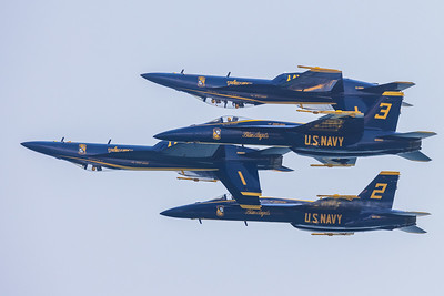 Chicago Blue Angels Show 2021