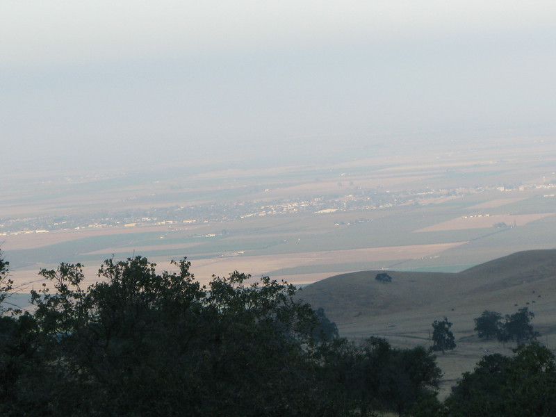 semi-hazy view of Arvin