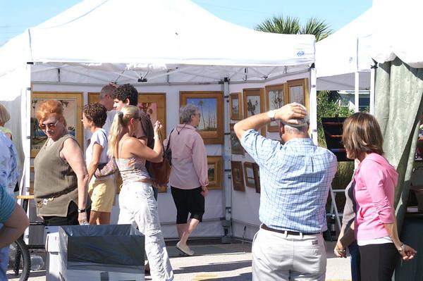 Steve's Cocoa Beach Art Show 2005