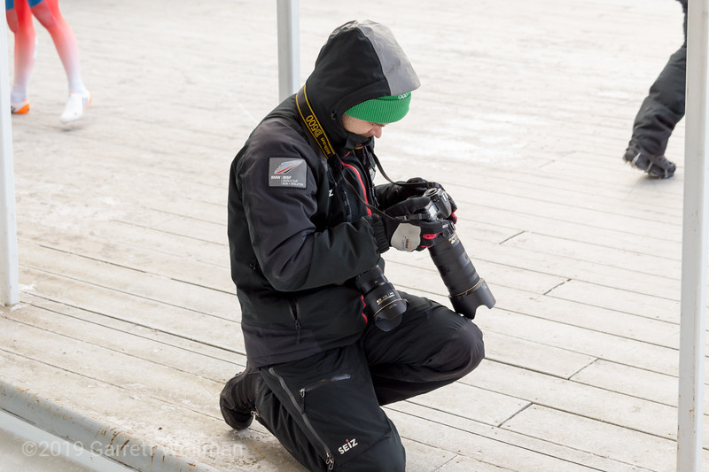 Official IBSF photographer