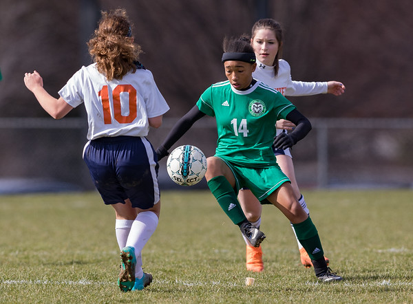 2018-04-06 | Girls MS Soccer | Central Dauphin @ Hershey