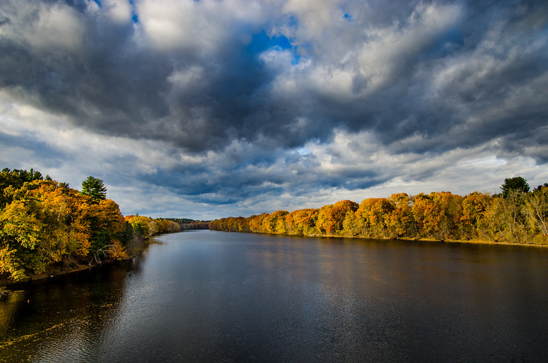 Merrimack River, Hudson, NH