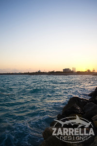 """Sunset on the Jetty"" (Dania Beach, Florida)"