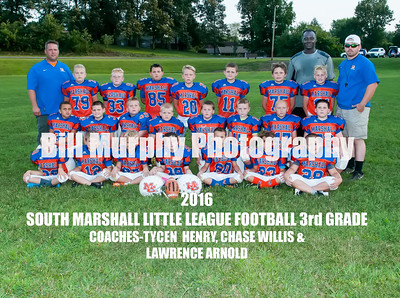 2016 South Marshall 3rd Grade Little League Football