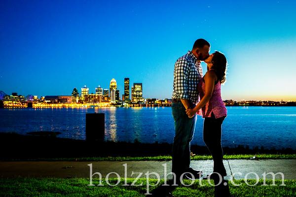 Nikki & Tony Color Engagement Photos