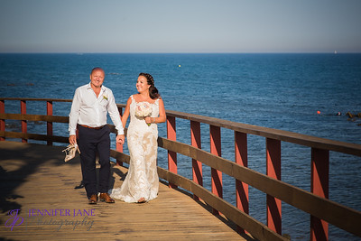 Louise and Ray - El Oceano, Mijas Costa, Marbella