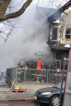 Working Fire (Code Red) 614 Plainfield Street Springfield, MA 3/24/19