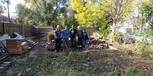 Volunteering Day, October Oct 29, 2017