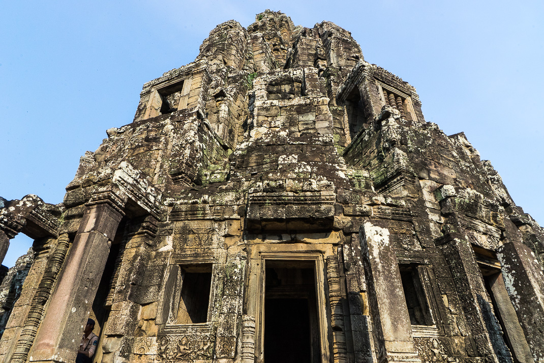 Bayon Temple Stone Spire