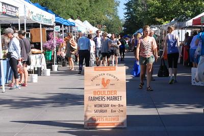 August Boulder Farmers Market
