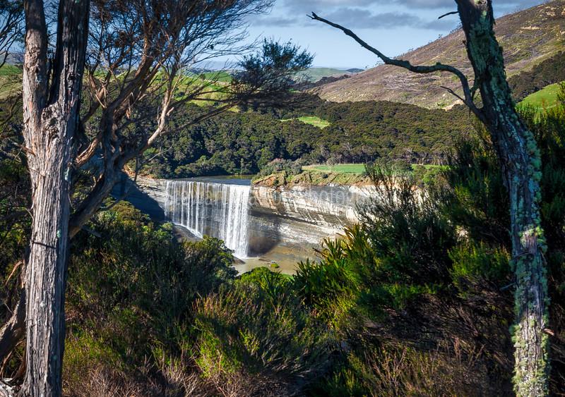 Mangatiti waterfall at Pongaroa, Wairarapa