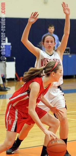 PY girls basketball 1-25-13