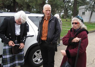 Marilyn's Funeral Feb 1, 2012