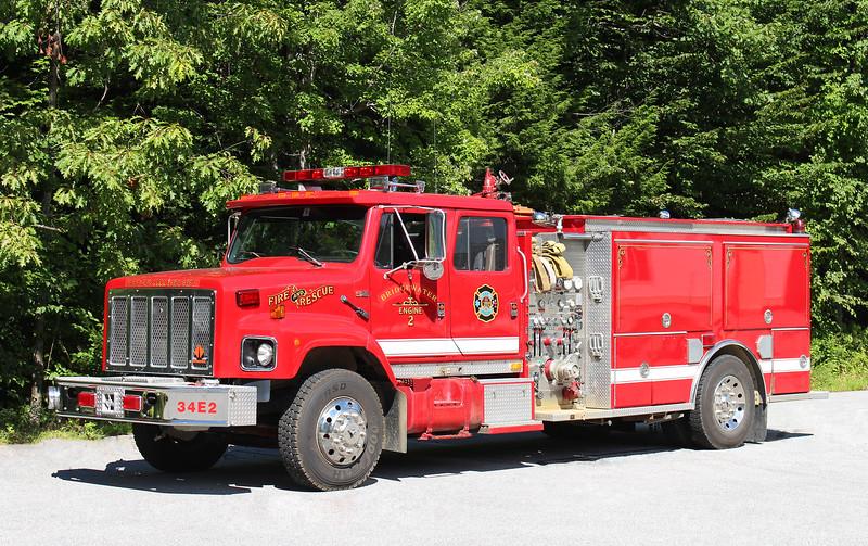 Engine 2   1998 International / Middlesex / Dingee Refurb   1250 / 1000