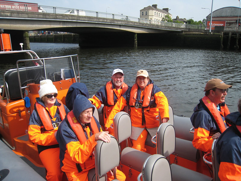Sea Safari to Cork City, Ireland