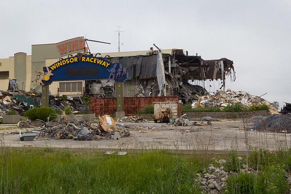Windsor Raceway Demolition