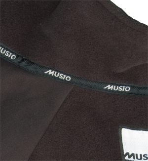 Musto Jackets, fleece lining